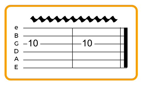 example-of-wide-vibrato-guitar-tab