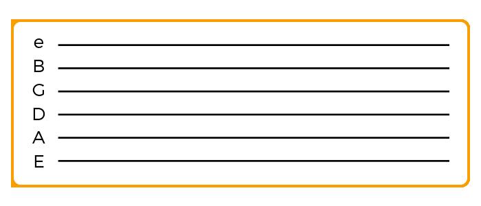 blank guitar tab