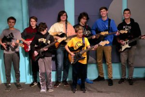 Boys Guitar Class at Northville Guitar Lessons